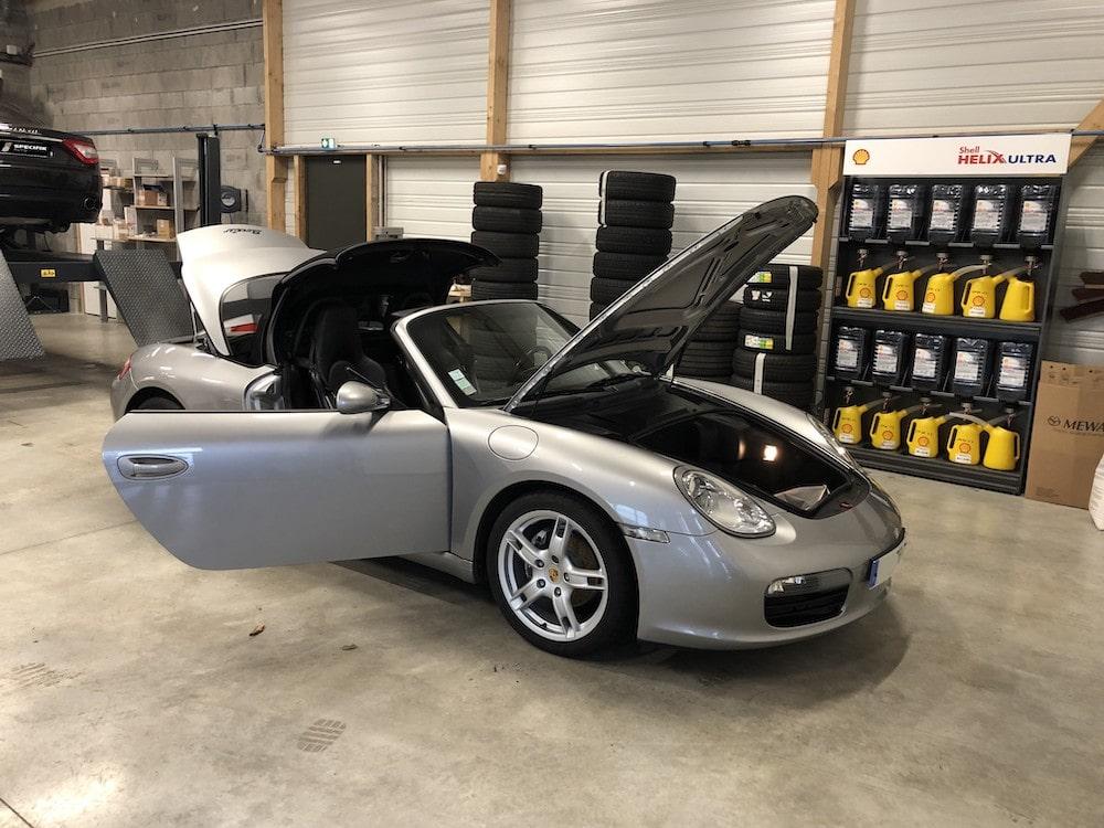 Porsche Boxster 2,7 245cv