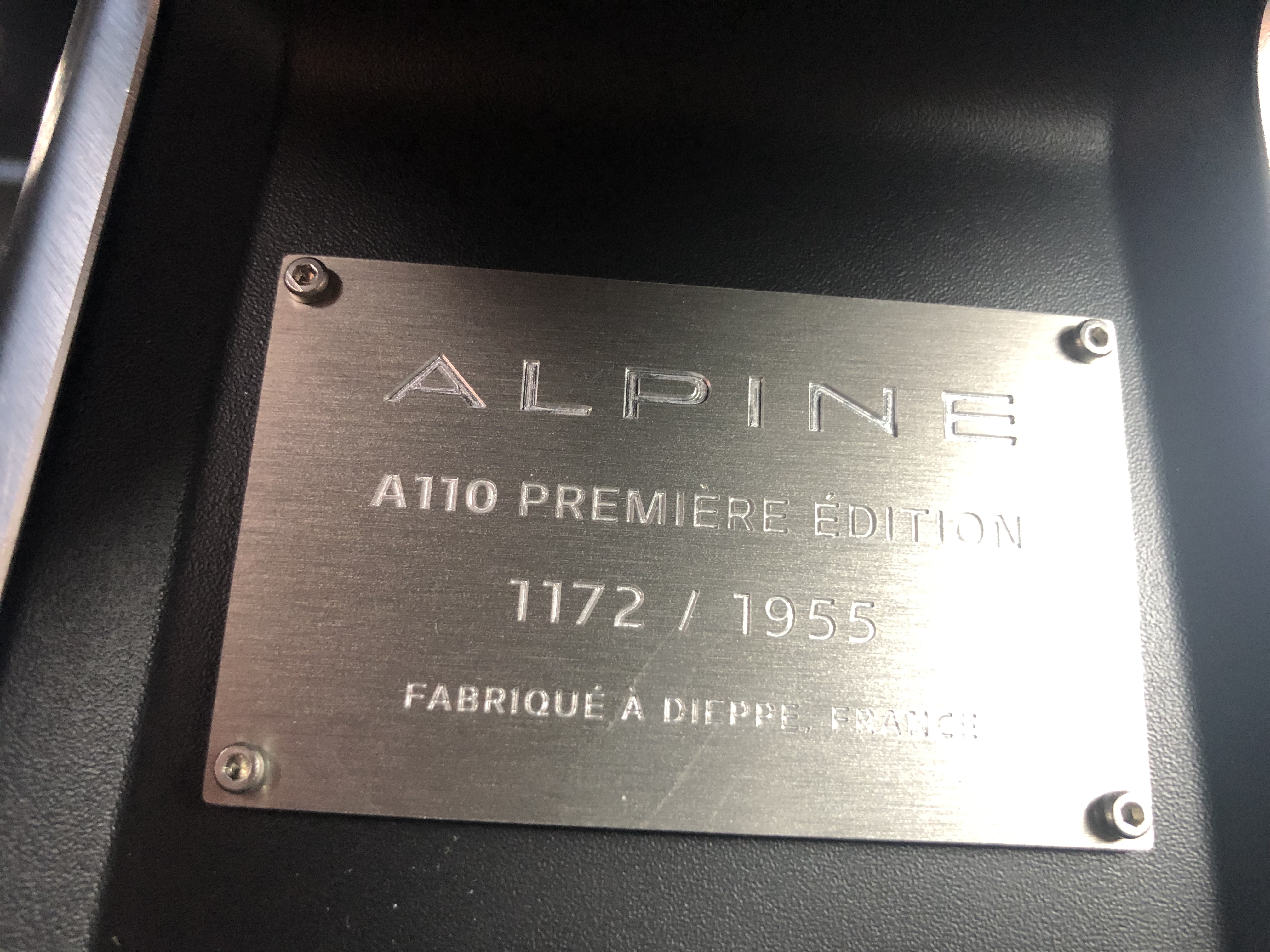 Alpine A110 1,8T 252cv Première Edition